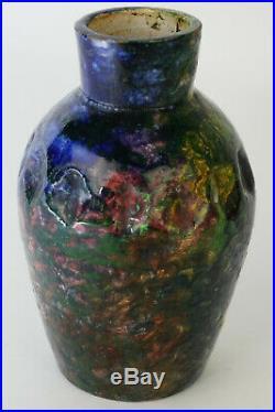 MAX CLAUDET (1840-1893) VASE EN GRES, ceramic art deco, pottery art nouveau