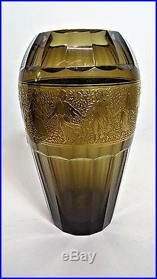 MOSER KARLSBAD vase Art déco