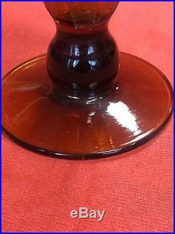 Magnifique Grand Vase Dégagé a Lacide Art Deco Hauteur 32,5 Cm