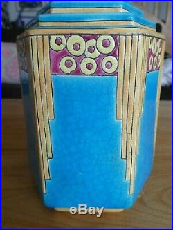 Magnifique vase art déco LONGWY 1920/1930