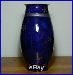 Manufacture Nationale de Sèvres 1931 Magnifique vase en porcelaine Art Déco