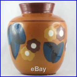 PAUL BONIFAS Vase Céramique ART DECO 1930 Suisse/Boas/30/jacquet/dangar/moly