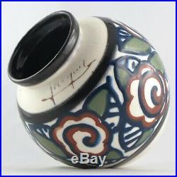 PAUL JACQUET Vase Boule Céramique ART DECO 1930 savoie/sispa/jourdain/primavera