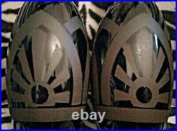 Paire de Vases Art Déco dégagé à l'Acide