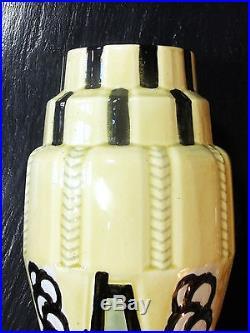 Paire de Vases art-déco 1930 en Céramique