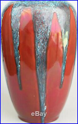 Paul Milet (1870/1950) Grand vase Porcelaine émaillée Sèvres, ca 1910/1930