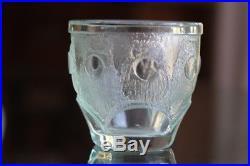 Petite Vase Daum Nancy Epoque Art Deco En Verre Attaqué A L'acide