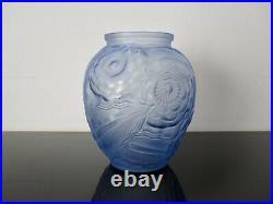 Pierre D'AVESN Vase ancien Art Deco