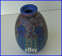 REVERNAY Vase Art Déco en Grès Emaillé Epoque vers 1920/30