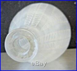 R. LALIQUE Vase ACACIA art deco daum, sabino, schneider, gallé, hettier