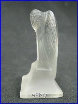 Rare Cachet Aigle Rene Lalique Periode Art Deco No Vase 1912