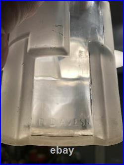 Rare Vase Art Deco Davesn