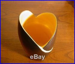 Rare Vase Art Deco En Ceramique Emaillee De Blanche Letalle Saint Clement
