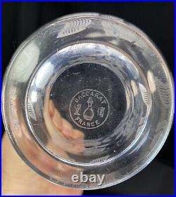 Rare Vase Art Deco En Cristal Baccarat Modele Fontenay Georges Chevalier 1930