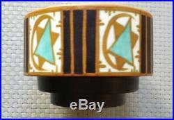 Rare Vase Keramis Boch Art Deco D. 1124 Charles Catteau