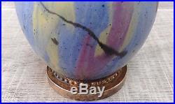 Rare vase verre art déco 1920 signé Robj Quenvit