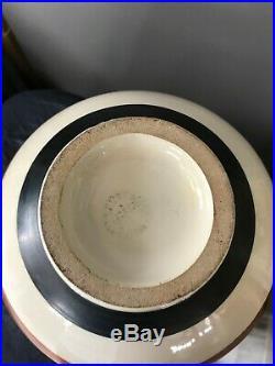 SUPERBE vase sèvres Paul Millet art déco chocolat signé