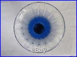 Schneider, Le Verre Français, grand vase art déco gravé à l'acide bicolore