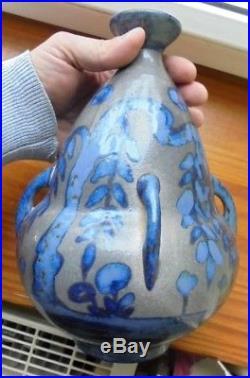 Signé PRIMAVERA Gustave Asch Vase ART DECO. TBE. Tours ste radegonde Buthaud
