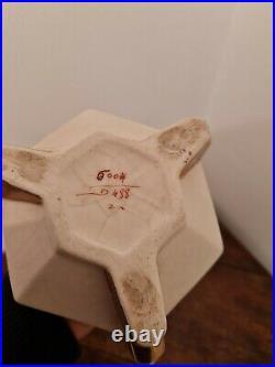 Superbe Vase Art Deco Geometrique Lachenal
