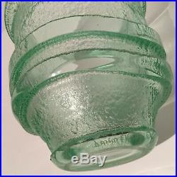 Superbe vase Daum Nancy art déco