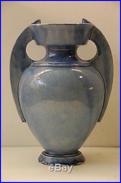 Theodore Deck Vase en Céramique Art Deco Nouveau Ancien 1900