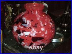 Très Beau Vase Époque Art Déco 1920, 30 Signée Lorrain Nancy, Daum, Croismare