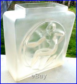 VASE EDOUARD CAZAUX et DAVID GUERON ART DÉCO vers 1925 HAUTEUR 22,5 cm
