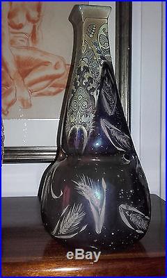 Vase ART DECO ART NOUVEAU 1920 1930 signed Montières Amiens