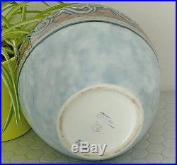 Vase Ancien Art Déco Porcelaine De Limoges Émaux Céramique Signé Camille Tharaud