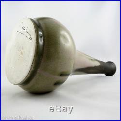 Vase Ancien Céramique Gilbert METENIER Grès20ème Allier/art/deco/denbac/pointu