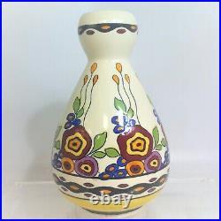 Vase Art Deco Boch Freres Keramis Charles Catteau Model Tango