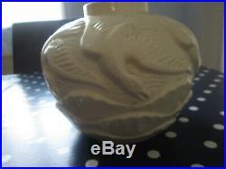 Vase Art Déco Boch-Frères poterie Kéramis décor Mouettes numéroté 1175 Belgique