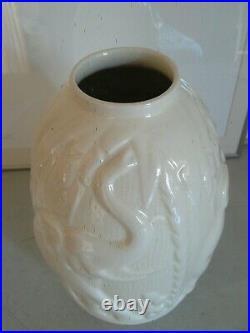 Vase Art Déco Boch La Louvière Carreau Monochrome
