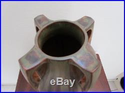 Vase Art Deco Denbac Vierzon Forme Balustre Avec 4 Anses N°373