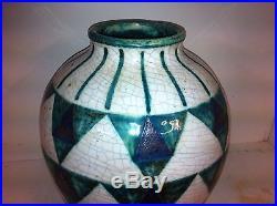 Vase Art Deco Edouard CAZAUX (H30cm)