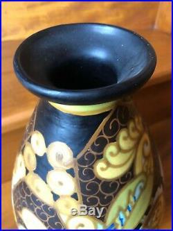 Vase Art Deco Keramis Boch Freres A La Louviere