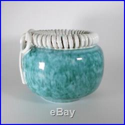 Vase Art Déco Manufacture Sainte Radegonde G. Asch Primavera -vers 1925