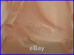 Vase Art Deco Signe Costebelle Decor A L Antique Patine Sepia Cb15