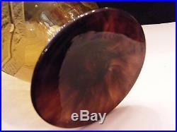 Vase Art Déco dégagé à l'acide Schneider 21,5 cm