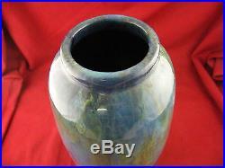 Vase Art Déco en Céramique d'Art de Bordeaux CAB 31 cm
