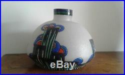 Vase Art Deco signé LEUNE