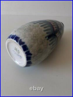 Vase Art déco Camille Tharaud porcelaine de Limoges