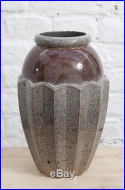 Vase Art déco signé J. Martin pour Marcel Guillard éditions Etling Paris 1930