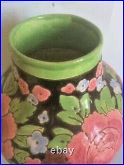 Vase Boch Keramis Catteau art déco des années 30
