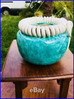Vase Boule- Art Deco- Ceramique- Sainte Radegonde- 1930-