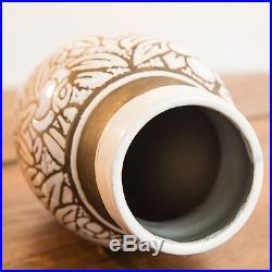 Vase Ceramique Art Deco par Brunard-Sue et Mare-Adnet