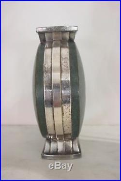 Vase En Dinanderie De Christofle Epoque 1930