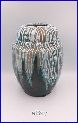 Vase Félix gête CAB BORDEAUX primavera art déco (no jean carries lion pointu)