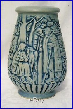 Vase Grès Art Déco Frères Mougin à Nancy et A. Goor Berger et Bergère 221. J